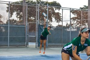 Fnu Women's tennis players in action in the game