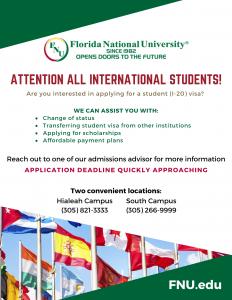 international flyer