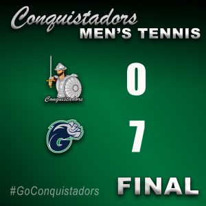 FNU Men's Tennis Results Graphic - 3/15/21