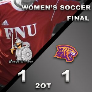 Womens Soccer Results Graphic - 3/16/21