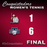 FNU Tennis Results Graphic - 3/24/21
