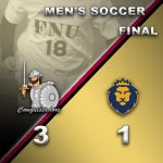 Men's Soccer Results Graphic - 3/27/21