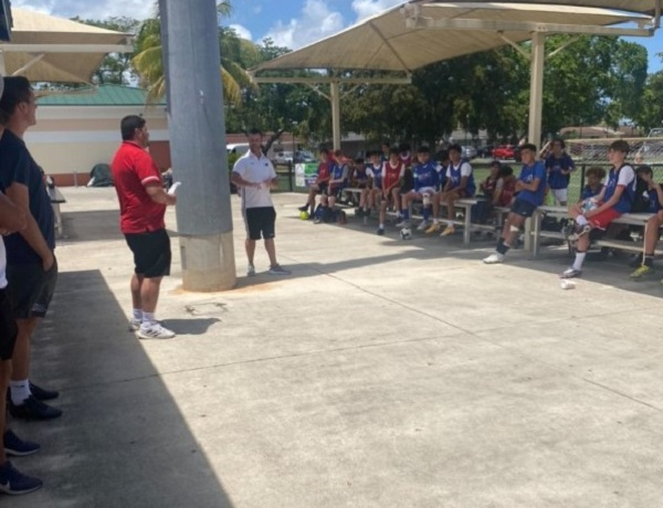 Community Outreach with Exact Soccer Camp