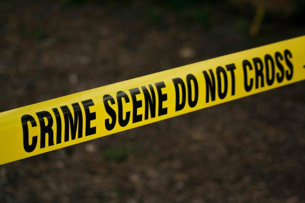 Crime scene tape. Crime Scene Investigation Program at FNU